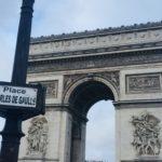 Arc de Triomphe Paris retour en France