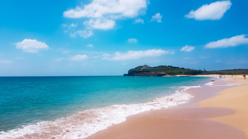 Taïwan plage aventure