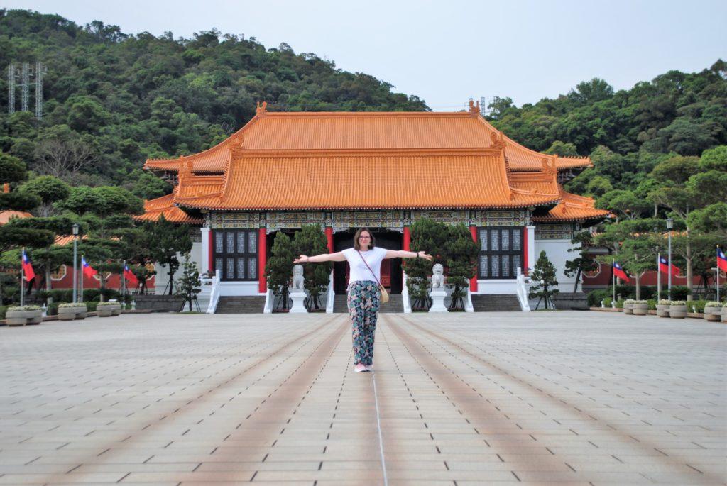 Sarah pvtiste Taïwan