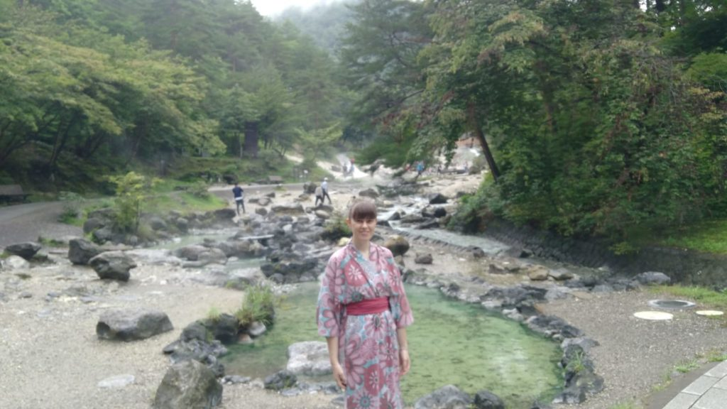 Estelle en programme vacances travail au Japon
