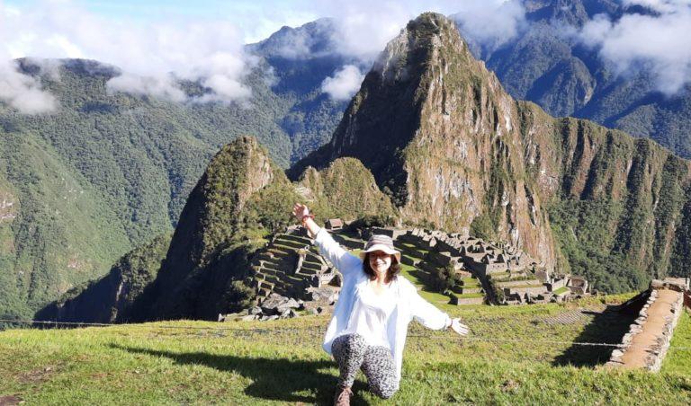 Clotilde en service civique au Pérou